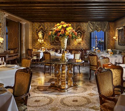 Enterance of restaurant