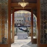 Entrance of restaurant